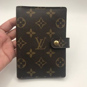 Authentic Louis Vuitton Agenda PM size